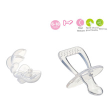 Flat Head Infant Silicone Soother