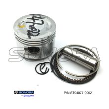 Professional for Jonway Scooter Piston Kit, GY6 150 Piston Kit, GY6 50 Piston Kit Manufacturer in China GY6 70CC piston 47MM  Piston Kit export to Netherlands Supplier