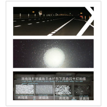 Rain Night Traffic Reflective Glass Beads