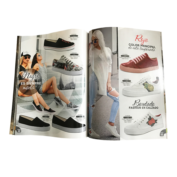 Cheap Soft Cover Fashion Products Magazine