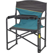 Portable Folding Directors Chair with Tiltable Table