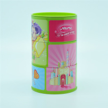 Stacking Rotatable Metal Money Saving Tin Box