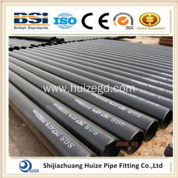 ASTM A106GR.B carbon steel black painted seamless pipe