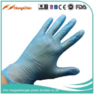 colorful medical examination gloves