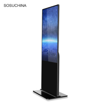 65 inch floor stand indoor advertising display players
