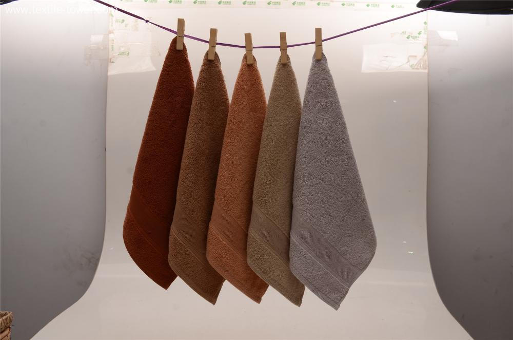 Men's Brown Camel Grey Handkerchief Kerchief Towels