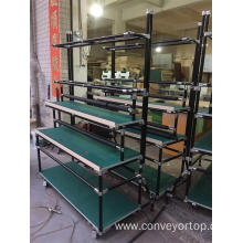 Popular Design for Lean Pipe Work Table Lean Pipe Frame Assembly Working Table export to India Supplier