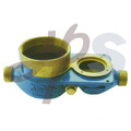 IC card brass water meter body