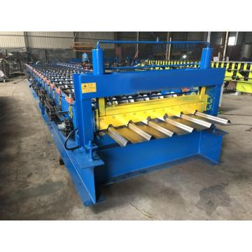 Trapezoidal or corrugated roll forming machine