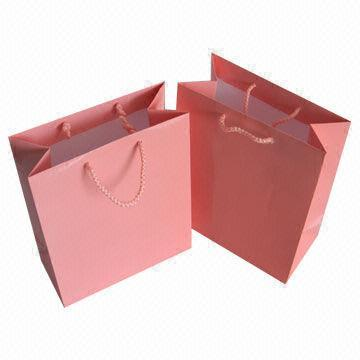 Coloful Shopping Bag With Handle