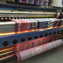 High quality coated polyester mesh banner
