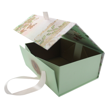 Luxury Foldable Gift Packaging Paper Box With Magnetic