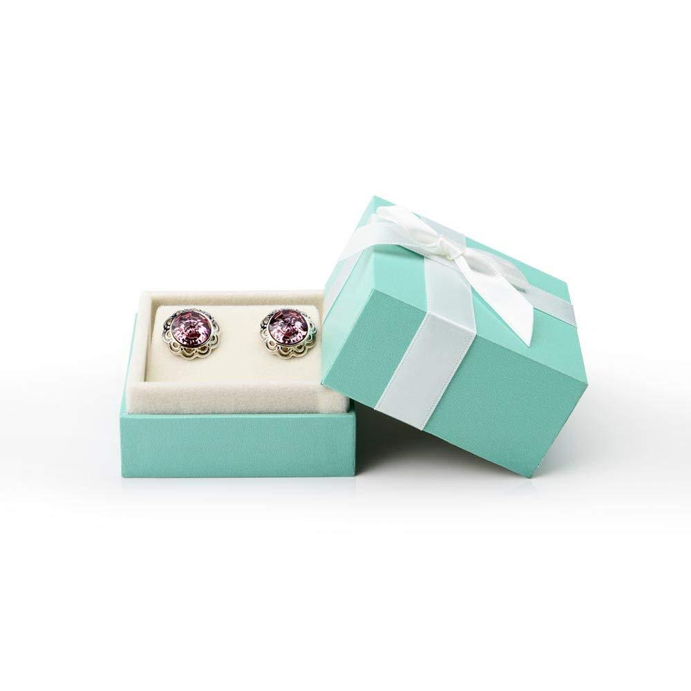 Bow-Knot Earrings Storage Box Jewelry Packaging Gift Box