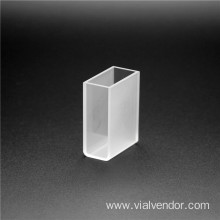 Glass Spectrophotometer Cuvette for Lab