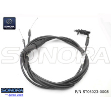 Professional for Qingqi Scooter Throttle Cable BT49QT-20CA4  BAOTIAN Throttle cable assy. supply to Poland Supplier