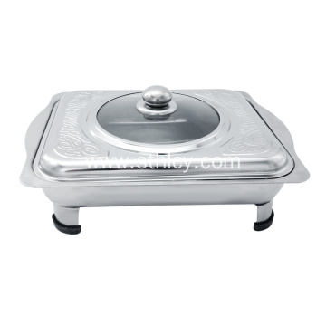 Stainless Steel Hotel Restaurant Hydradulic Dining Stove