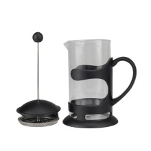 Household Black Frame Glass Coffee French Press