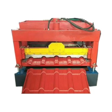 Glazed corrugate roof steel roll forming machine
