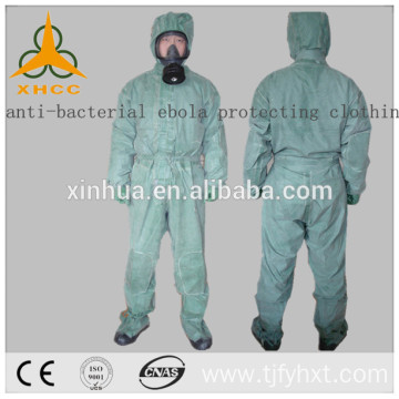 anti-ebola waterproof isolation gown