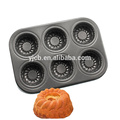 6 cups Baking Mould Mini Pudding Cake Bakeware