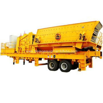 Aggregate Crushing Machine Mobile Gravel Crushing Plant