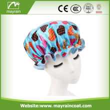 Disposable Plastic Customized Shower Cap