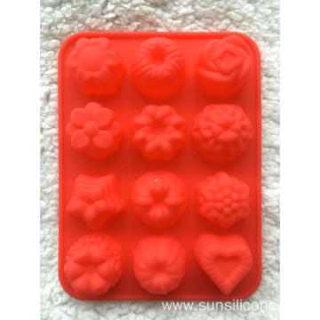 Flower Shaped Food Grade Silicone Mold