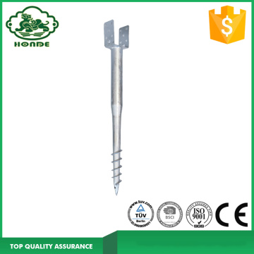 Galvanized Ground Screw For Sheds