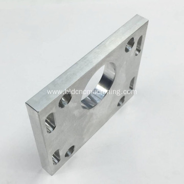 Machining of Cross Hole on Aluminum Plate