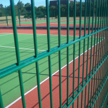 Powder Coated Double Wire Mesh Fence Panels