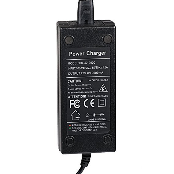 42V 2A Power Adapter PowerFast 3-Prong Inline