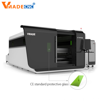 Covering Metal Crafts Fiber Laser Cutting Device