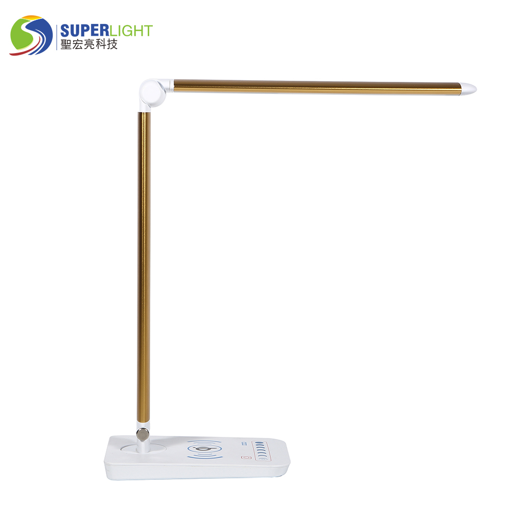 wireless charging desk lamp table lamp for easy charging