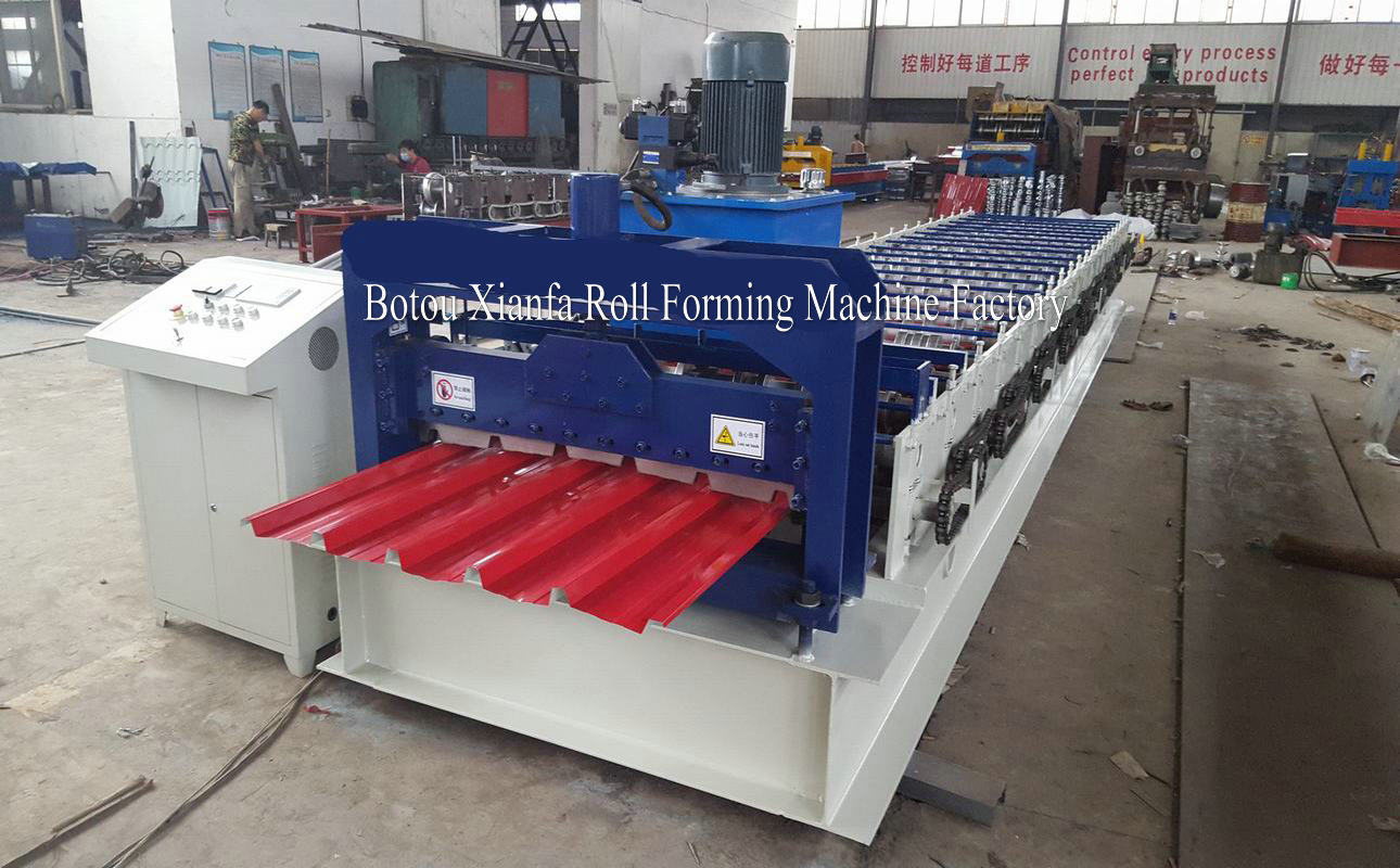 metal roof sheet making machine