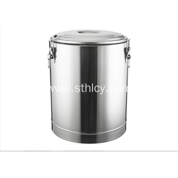 Heat Preservation Soup Barrel Metal Pail