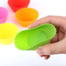 Holiday sales for China Reusable Silicone Muffin Cups,Large Silicone Muffin Baking Cups Supplier Colorful Non-stick Silicone Muffin Pan export to Antigua and Barbuda Exporter