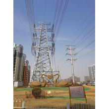 Personlized Products for Power Transmission Line Electric Power Steel Tower supply to Montserrat Manufacturer