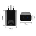 Dual USB Quick Charge 3.0 USB Wall Charger