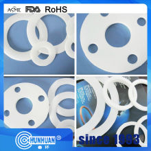 Good Quality for White PTFE Gasket PTFE Flange Gasket With Various Sizes supply to Tuvalu Factory