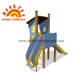 Blue Equipment Kids Outdoor Playground For Children