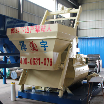 Electrical self loading concrete mixer machine
