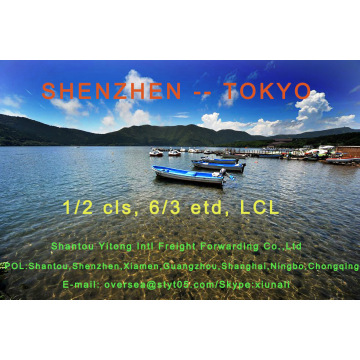 LCL Consolidation Shipping from Shenzhen to Tokyo