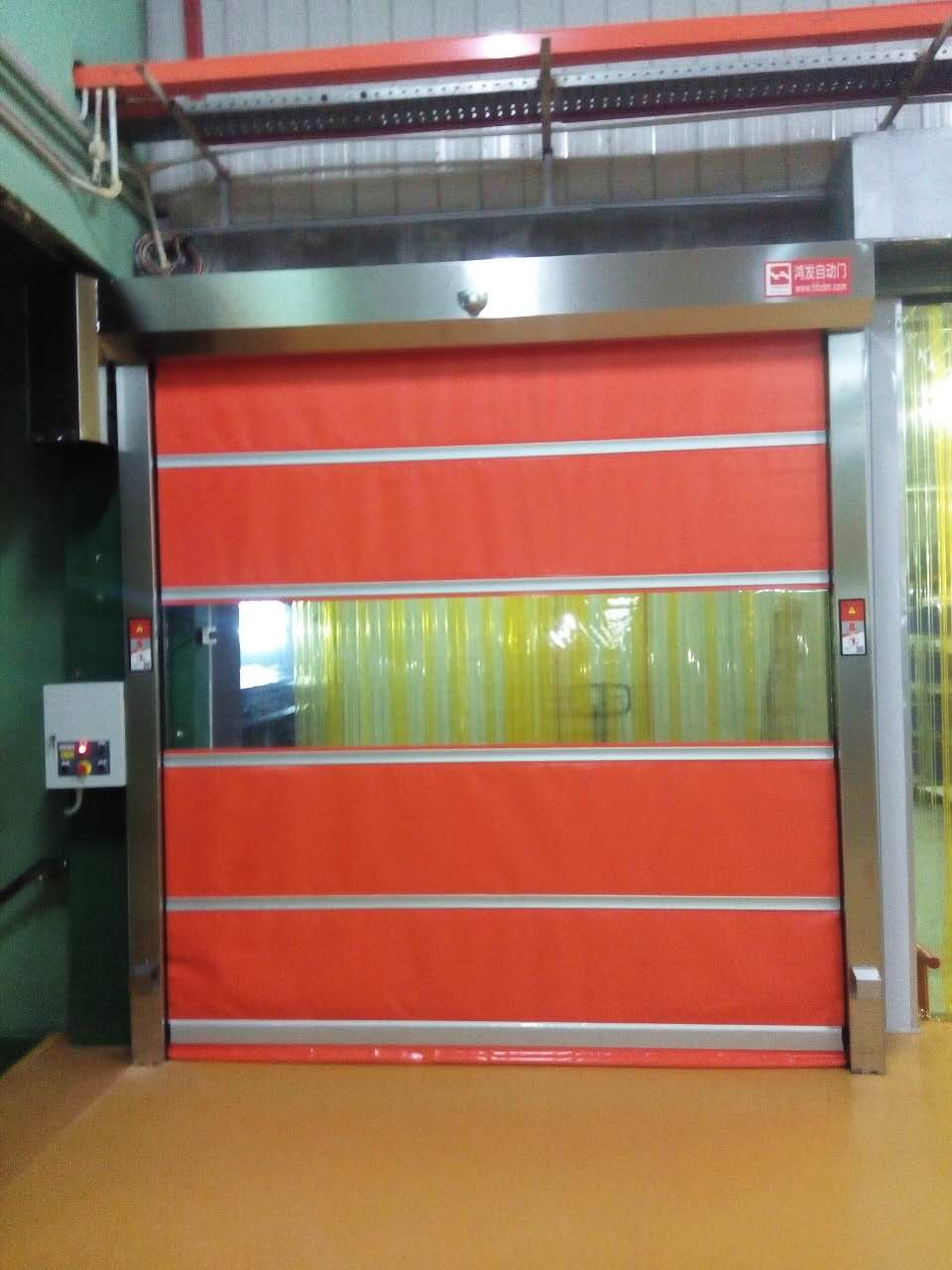 304# Stainless Steel Frame Rapid Door