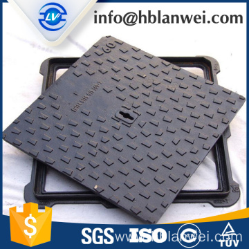 Supply for Cast Iron Manhole Cover Ductile iron square manhole cover export to Italy Factories