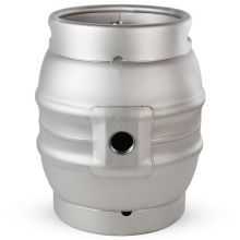 New Fashion Design for Stainless Steel Beer Ice Bucket Container The Round Party Stainless Steel Beer Cask Container supply to Aruba Factory
