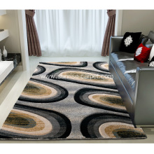 Microfiber machine tufted carpet for home