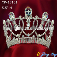 Hot Fashion Big Rhinestone Pageant Crown