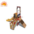 Outdoor Playground HPL Steel Climbing Structure