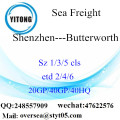 Shenzhen Port Sea Freight Shipping To Butterworth