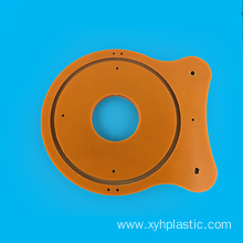CNC processing parts black bakelite insulation washer gasket